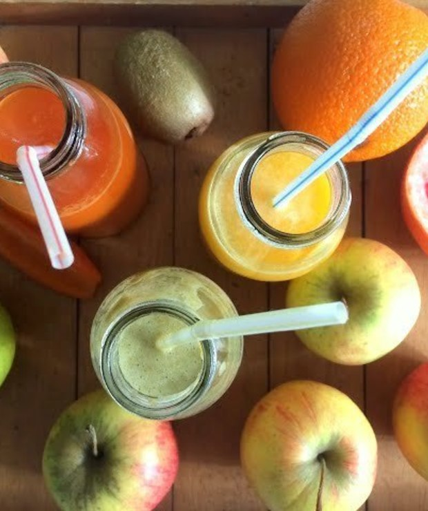 Domowe soki owocowe i warzywne - Zimne