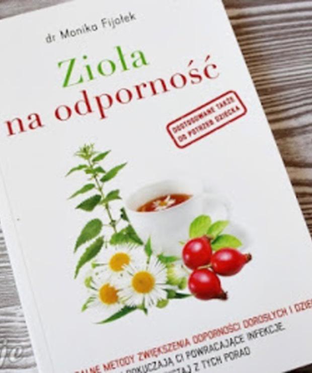 Zioła na odporność - książka dr Moniki Fijołek - recenzja - Produkty