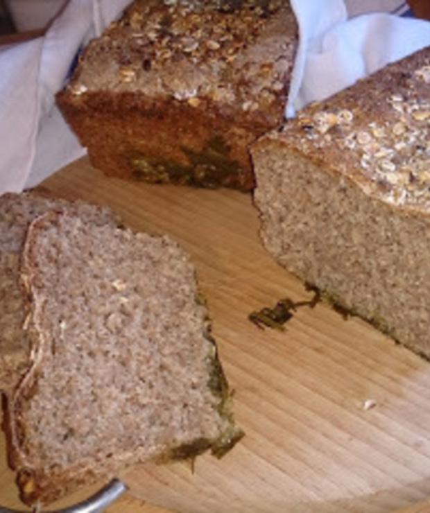 chleb żytni razowy z serwatką - Chleby