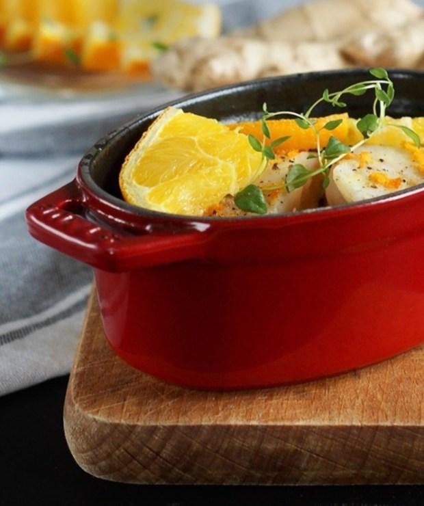 Ryba w pomarańczach z warzywami - Inne