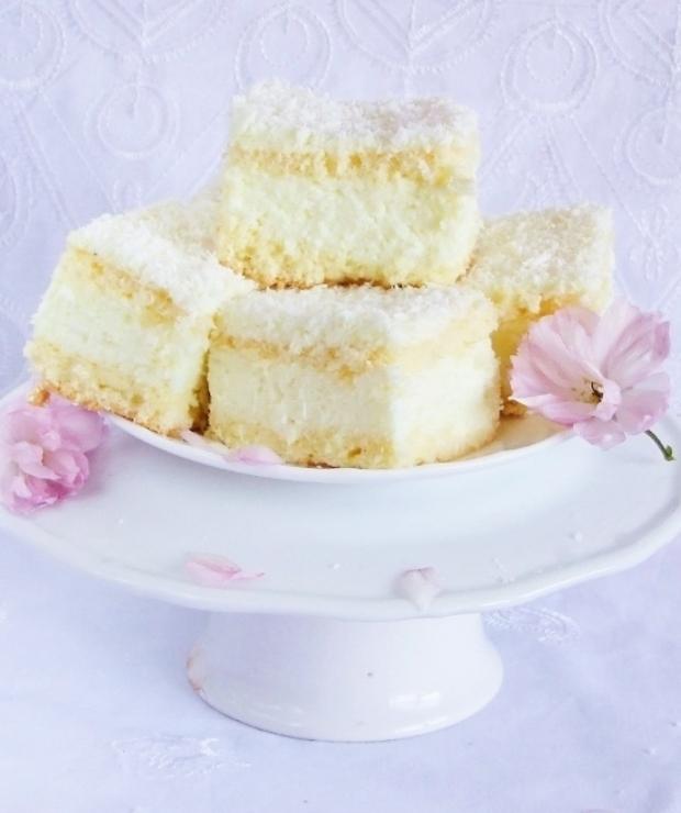 ciasto kokosowo-cytrynowe… - Biszkopty