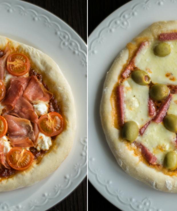 Domowa pizza - Pizza i calzone