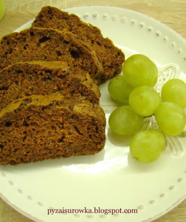Korzenne ciasto marchewkowe - Ucierane