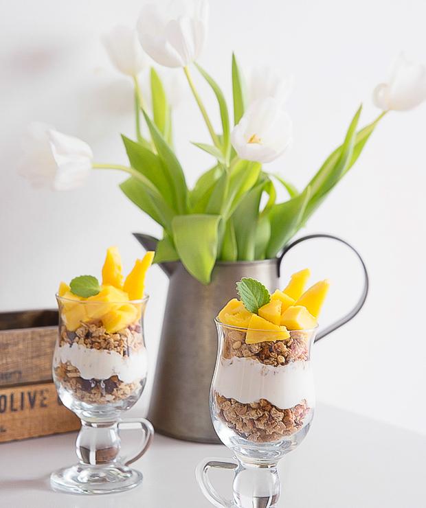 Deser jogurtowy z mango - Inne