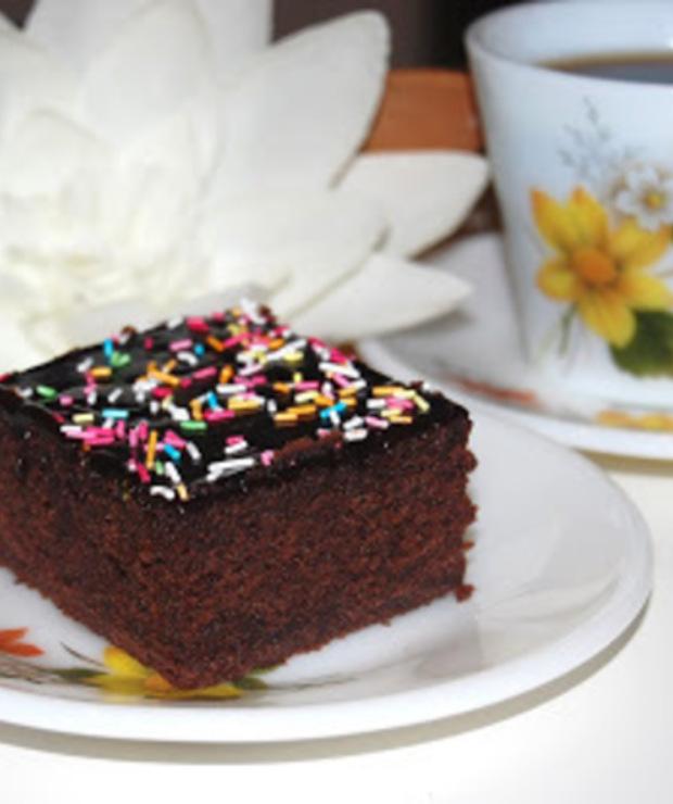 Ciasto czekoladowe z colą - Ucierane