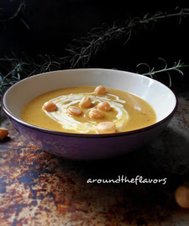 Zupa krem z pieczonej dyni  - Kremy