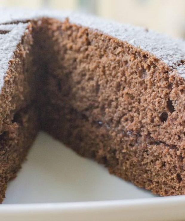 Piernik gryczany z powidłami śliwkowymi - Desery i ciasta