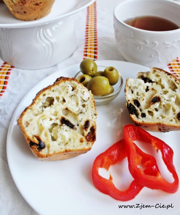 Muffinki z fetą i pomidorami- Twoje śniadanie prosto z piekarnika - Inne