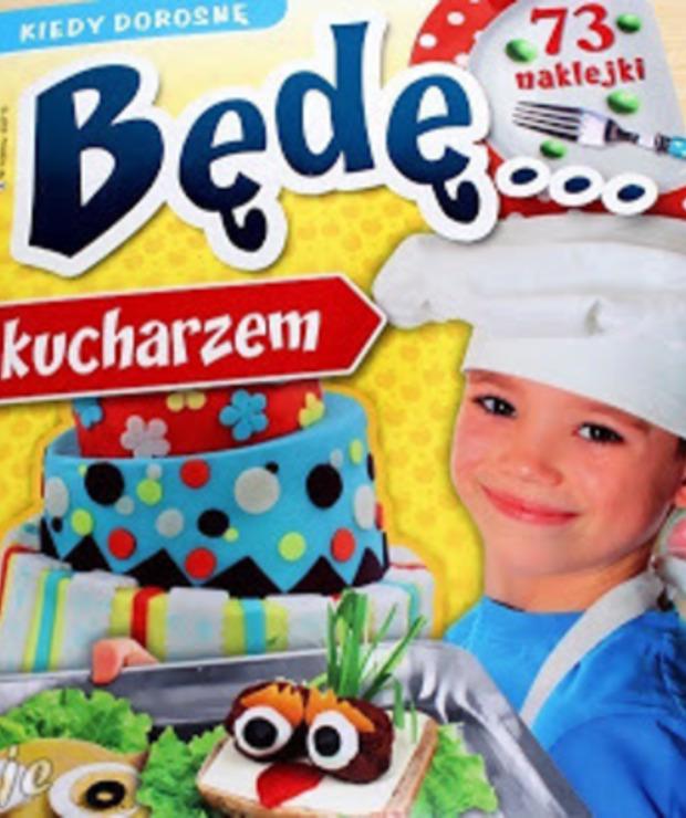 Kiedy dorosnę będę... kucharzem - recenzja - Produkty