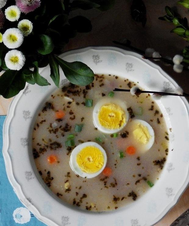 Wielkanocny żurek bez glutenu i laktozy - Bezglutenowe