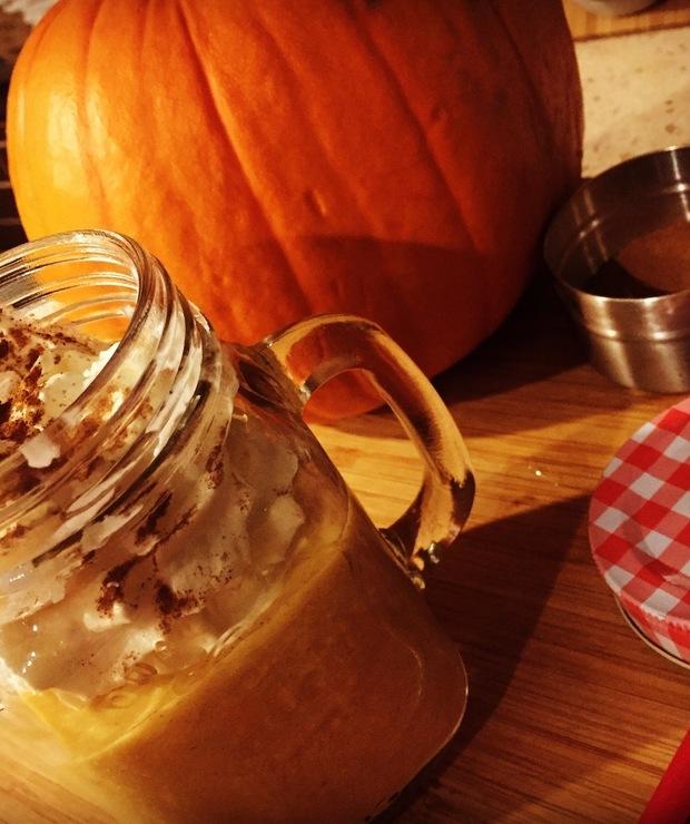 39# Pumpkin Spice Smoothie - Zimne