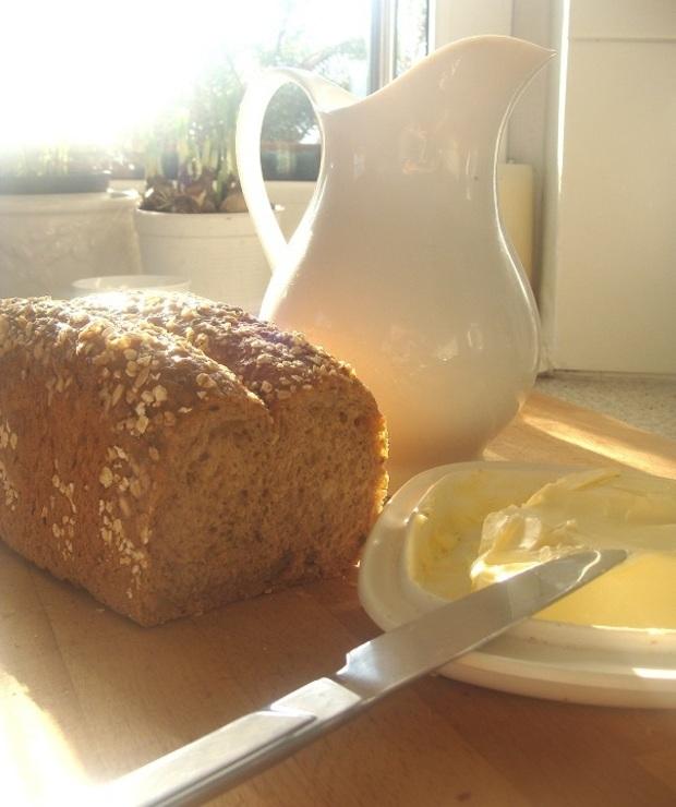 Domowy chleb pełnoziarnisty  - Chleby