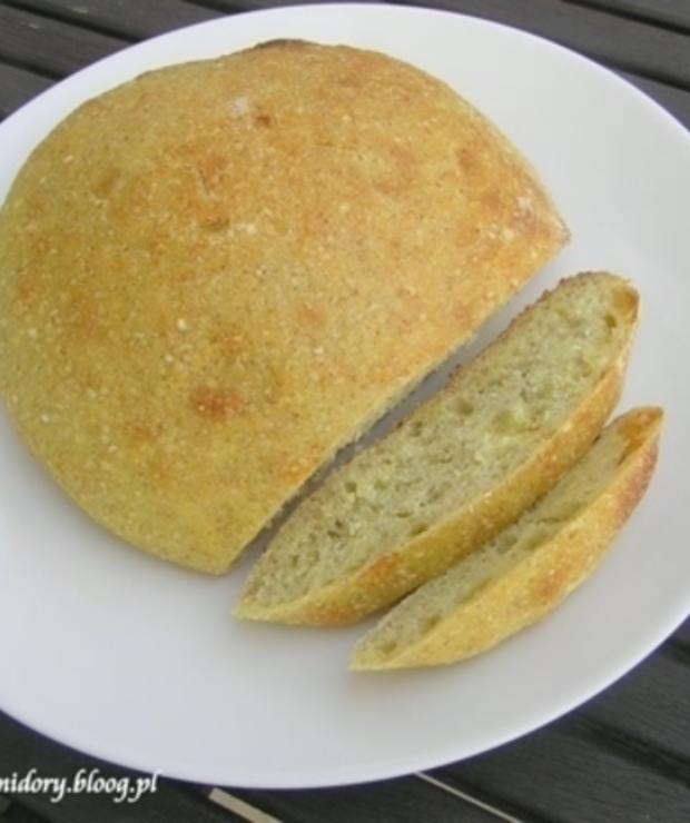 Chleb na dwóch zakwasach - Chleby