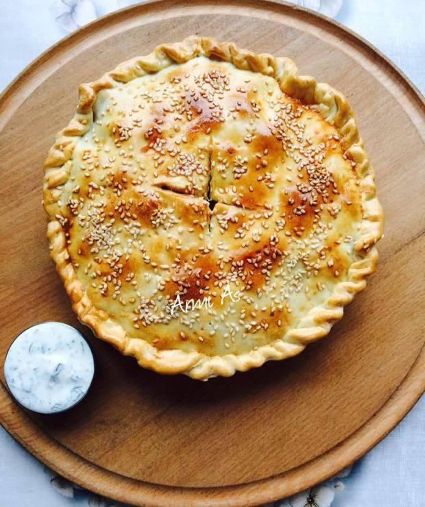 Fitchi- narodowy placek turkmeński z mięsem i cebulą - Inne
