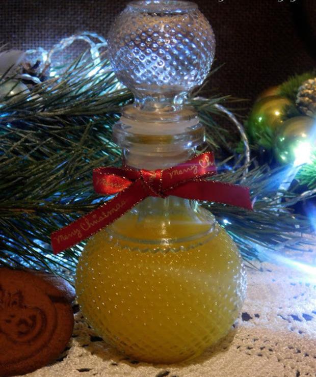 Nalewka świąteczna z pomarańczy - Alkoholowe