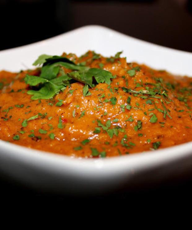 Zupa krem z pieczonych warzyw korzeniowych - Z warzywami