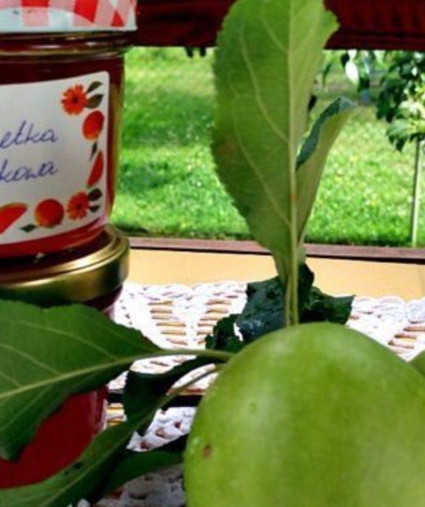 Galaretka z jabłek idealna dla wegan - Owocowe