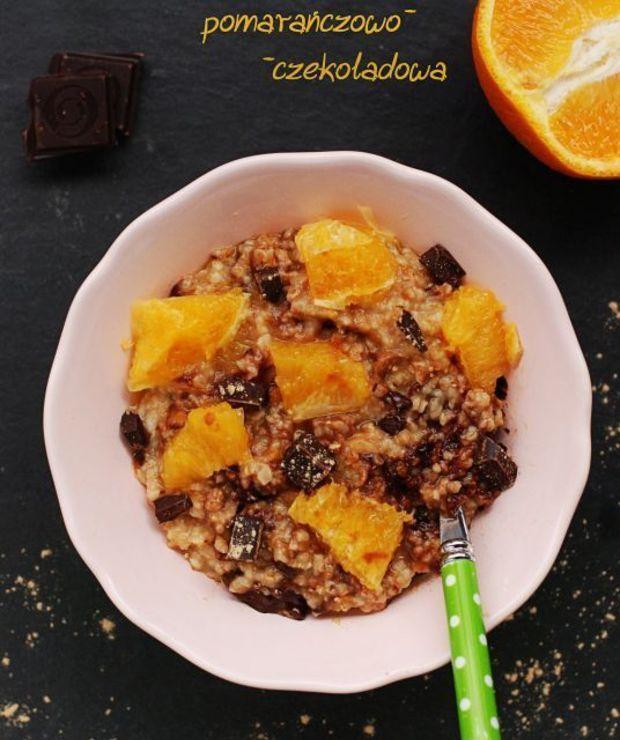 Owsianka pomarańczowo-czekoladowa - Musli i podobne