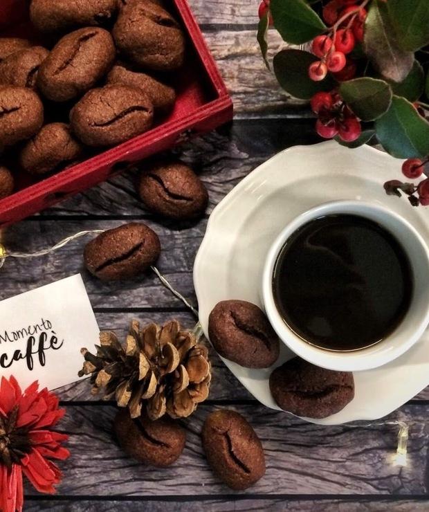 Ciasteczka kawowe - Ciastka
