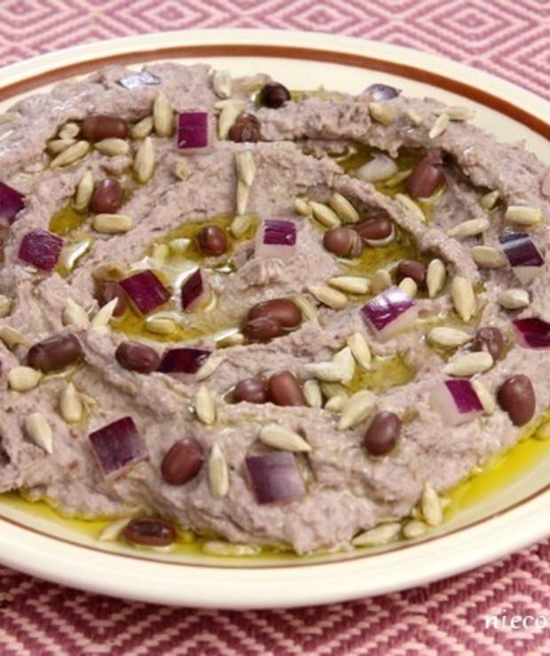 Hummus z fasolki adzuki - Na zimno