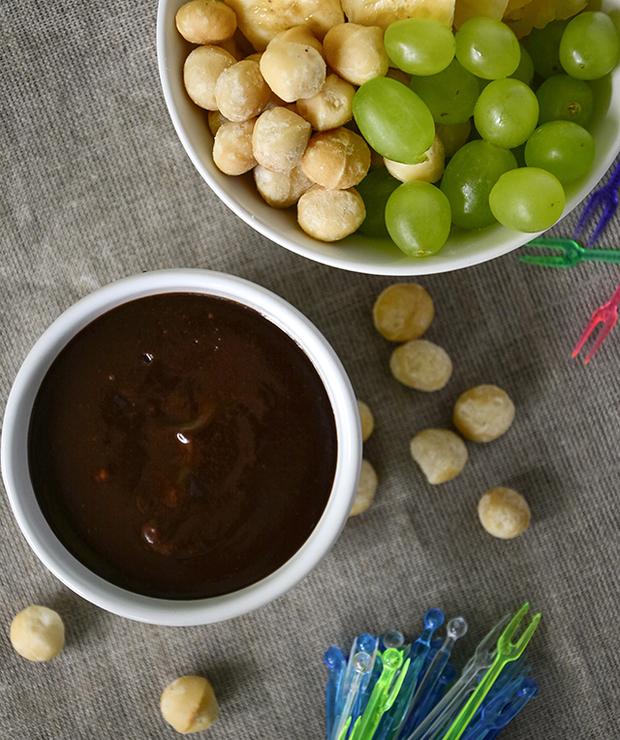 Fondue czekoladowo-orzechowe - Inne