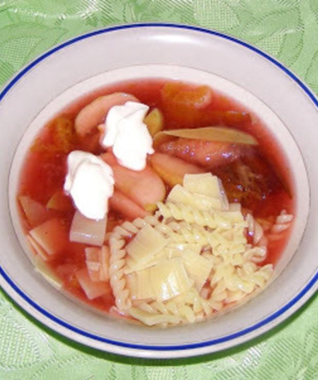 zupa owocowa... - Chłodniki