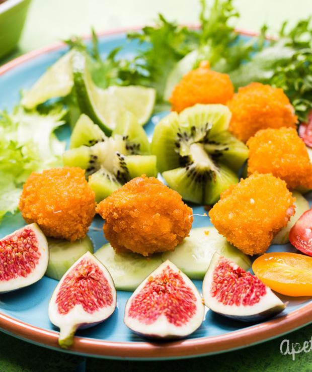 Mozzarella panierowana - Na gorąco