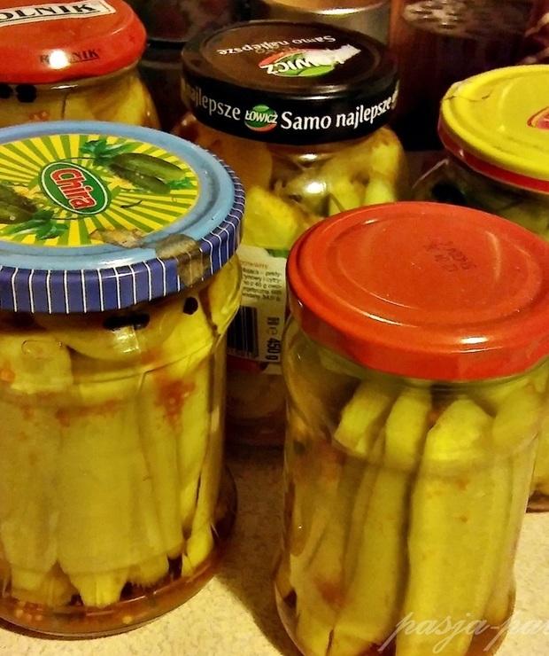 Ogórki w curry - Warzywne