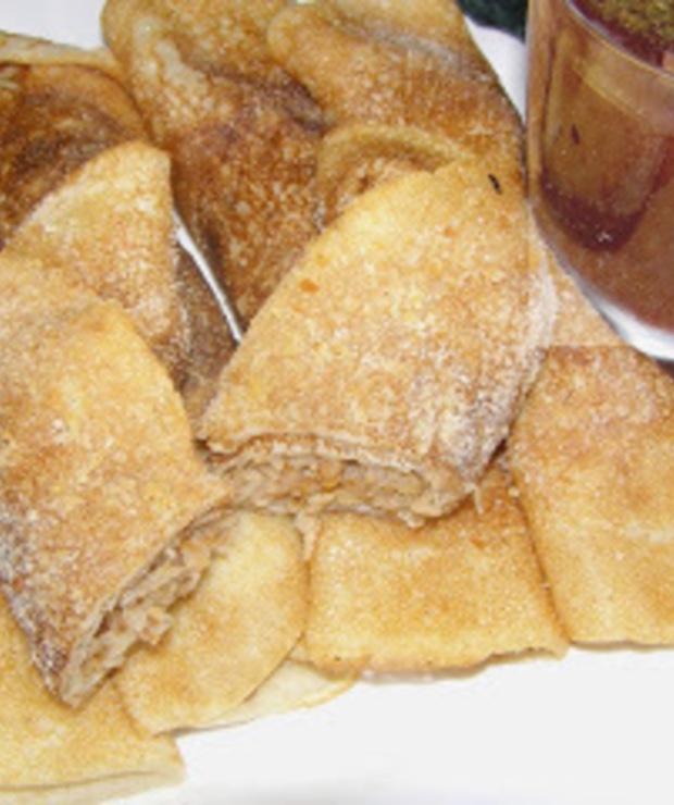 naleśniki pszenno-żytnie z kaszą gryczaną i bigosem... - Mączne