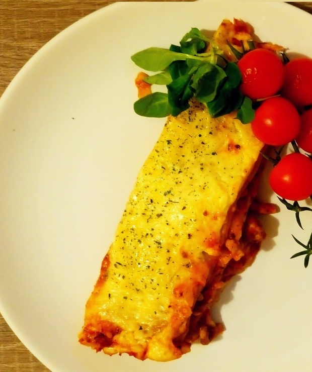 Lasagne z sosem beszamelowym - Dania z makaronu