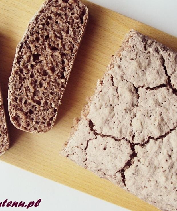 Chleb z mąką z czarnego ryżu kleistego i z nasionami płesznika II (bez glutenu) - Chleby
