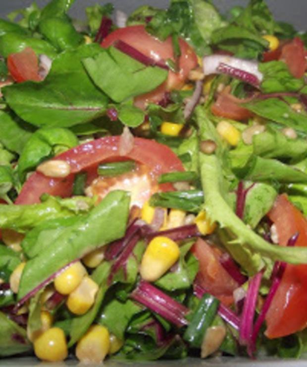 Sałatka z liści botwiny - Jarskie