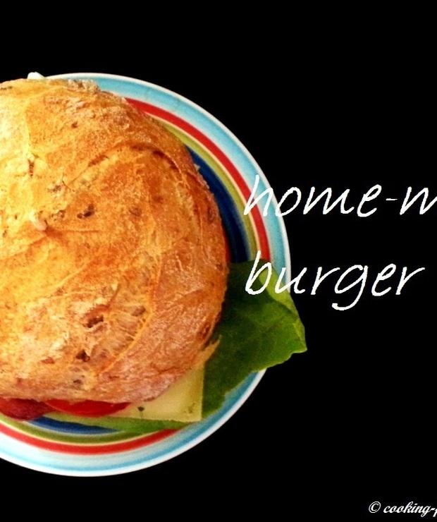 Domowe burgery z indyka - Drób