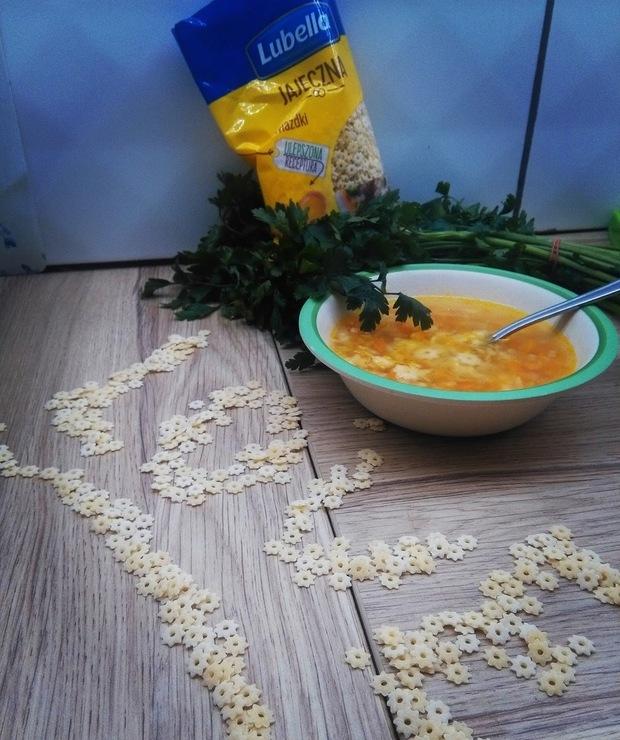 Nikosiowa jarzynka z gwiazdkami - Z warzywami