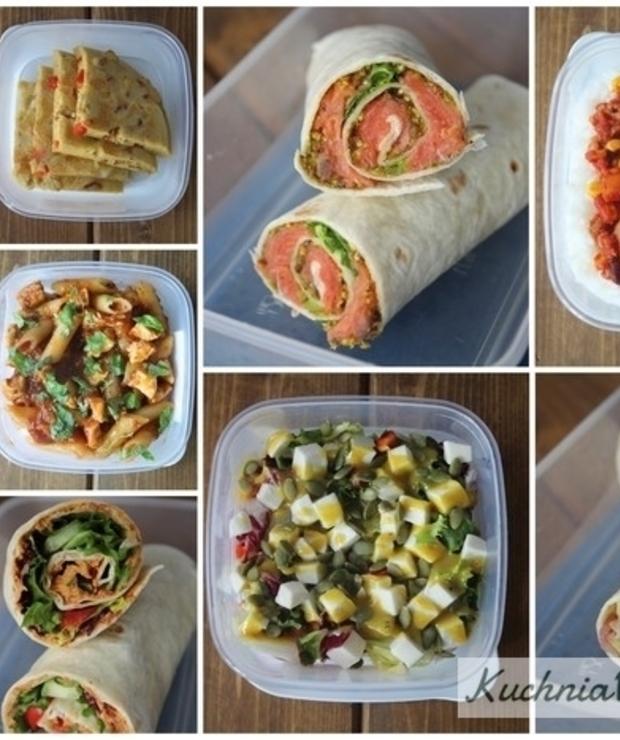 10 pomysłów naszybkie Lunchbox'y część 2. - Drób