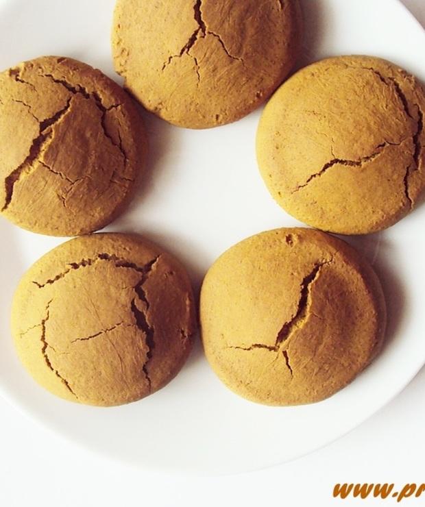 Ciastka z melasą z morwy i z cukrem kokosowym ( bez glutenu i masła ) - Bezglutenowe