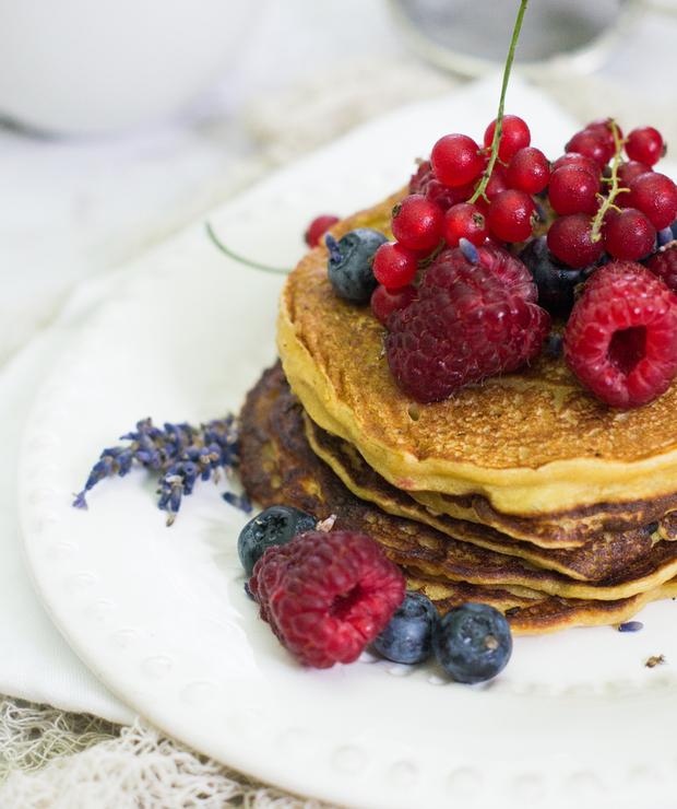 Idealne wegańskie pancakes (bezglutenowe) - Dania główne
