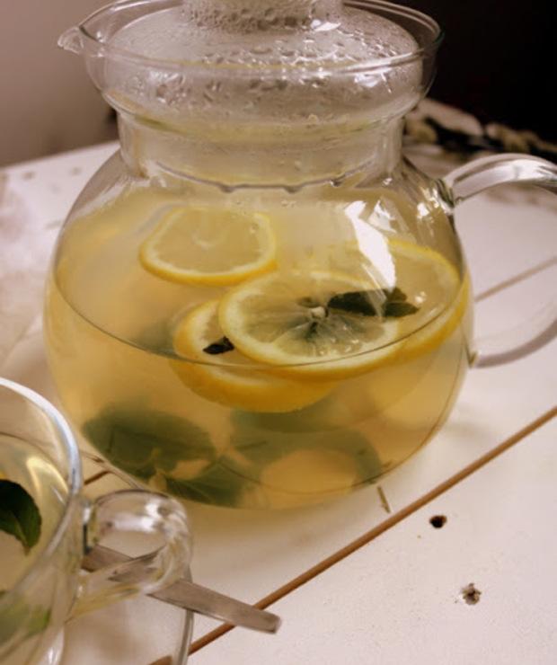 Herbata miętowa z imbirem i cytryną  - Gorące