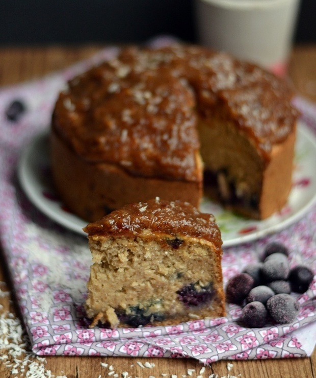 Ciasto kokosowe x4 (wegańskie, bez glutenu!) / Coconut cake (vegan, gluten-free!) - Inne