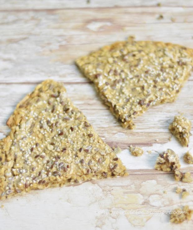 Knekkebrød - norweskie chrupkie pieczywo - Chleby
