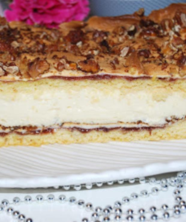 Pani Walewska (Pychotka) -ciasto - Kruche