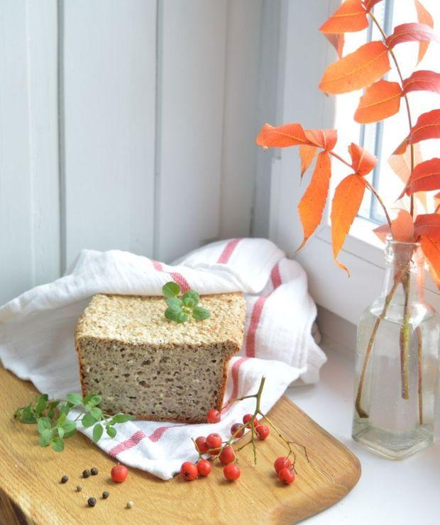Chleb bezglutenowy (wegański, bez jaj) - Chleby