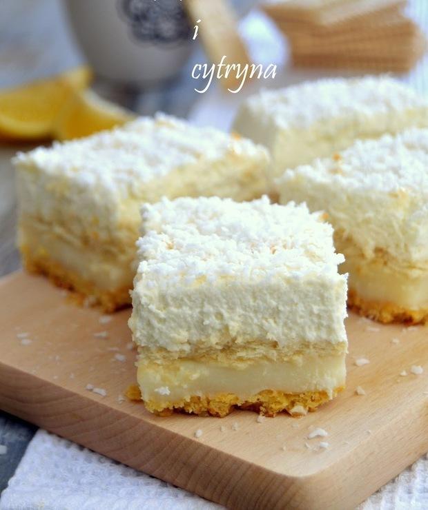 Ciasto kokosowo - cytrynowe - Inne