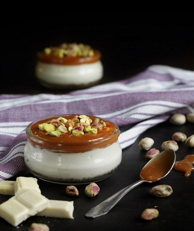 Mini serniczki z białą czekoladą i solonym karmelem - Inne