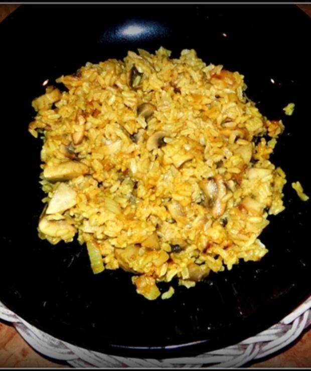 Ryż z pieczarkami i imbirem… - Dania z ryżu i kaszy