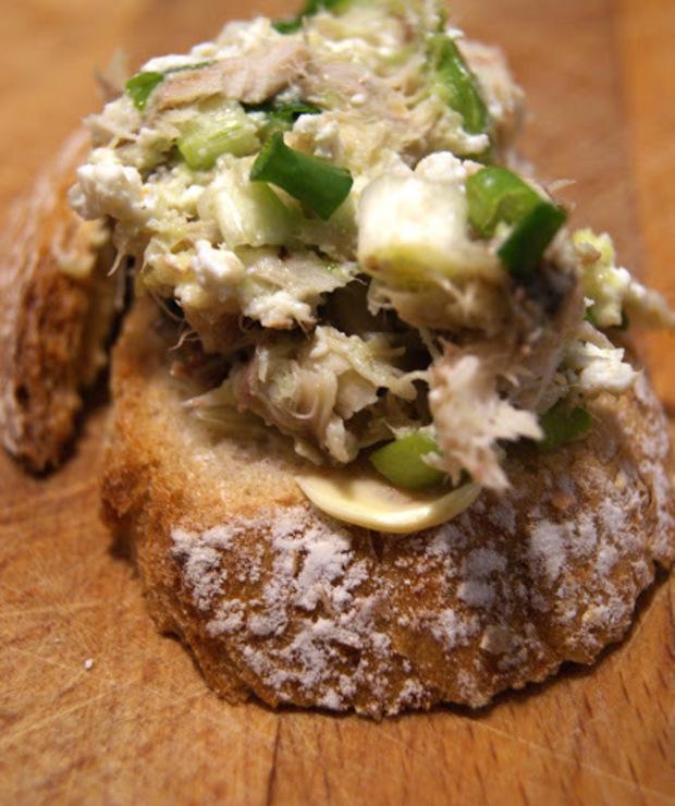 Pasta z makreli z awokado i twarogu - Pasty do chleba
