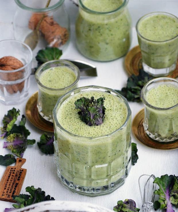 Koktajl owocowo-warzywny - Zimne