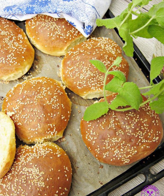 Bułki do burgerów - Bułki