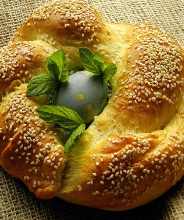 Pagnottelle di Pasqua. Wielkanocne bochenki. - Chleby