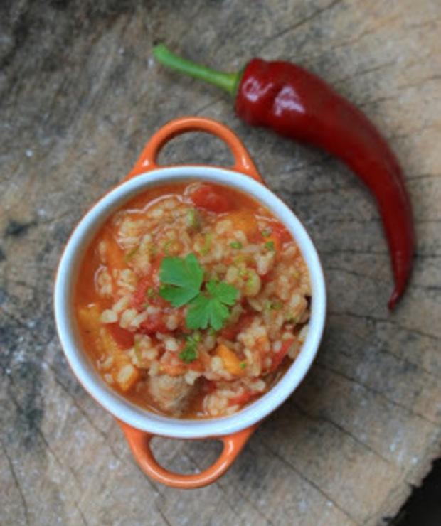 Jesienna zupa z kasza bulgur - Z warzywami